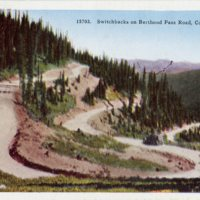 Switchbacks on Berthoud Pass Road, Colorado