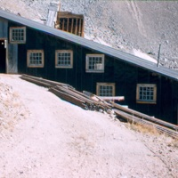 Santiago Mill in Colorado, from the side