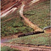 Zig Zag Climb to Mt. McClellan, Colo., 6% Grade, Argentine Central Ry.