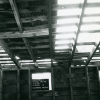 Interior of a mining building in Lawson