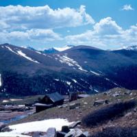 Waldorf, Colorado looking southeast