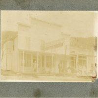 Men outside the Empire, Colorado Bakery and Mercantile Company